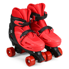 Skating-Shoes Roller-Skates Inline-Wheels Adjustable Converts Kids Children with 8pcs