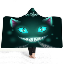 Halloween Cat Paw Wearable Fleece Soft Plush Manta For Adults Plush Hooded Blanket Poncho Manta Para Sofa Fleece advken manta tank