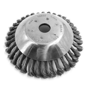 Unkrautschneider Werkzeug | 8 Zoll Stahl Draht Rad Garten Pinsel Rasenmäher Gras Eater Trimmer Pinsel Cutter Werkzeuge Teile