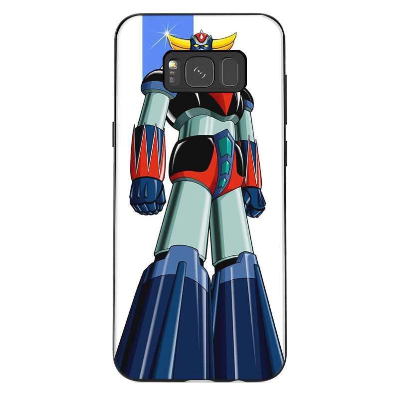 携帯電話ケース TPU サムスン注 10 8 9 S6 S7 エッジ S8 S9 S10 S10E プラスカバーマジンガー Z シェル