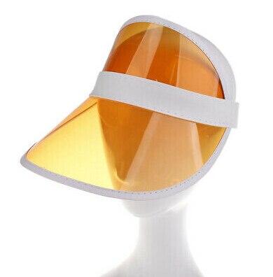 1 шт. летняя повседневная мужская и женская неоновая шляпа солнцезащитный КОЗЫРЕК ГОЛЬФ Спортивная теннисная Кепка Солнцезащитная шапочка, Кепка - Цвет: Оранжевый