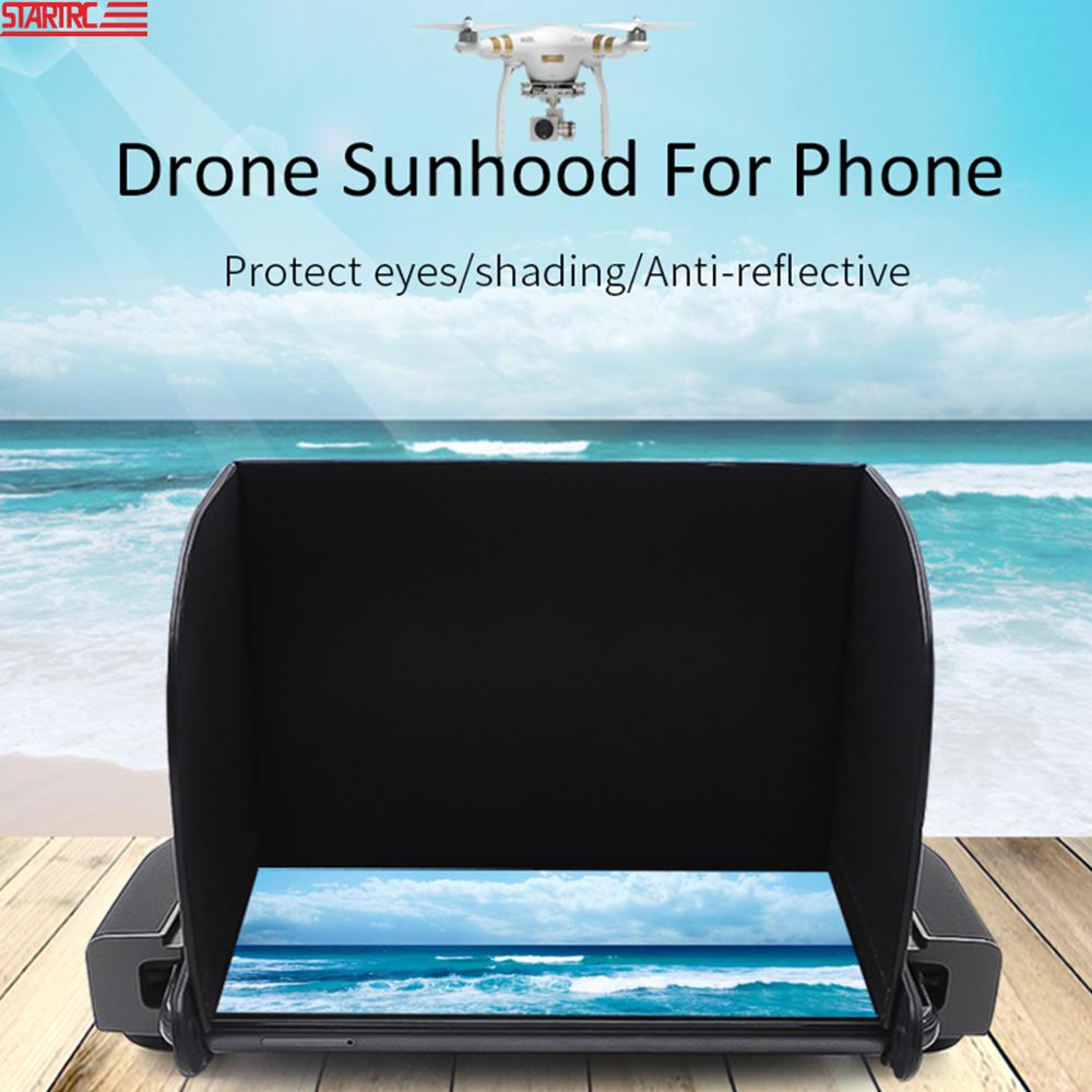 STARTRC Remote Control Sunshade   4 7-5 5 inch Sun hood For Mavic Mini For DJI Drone Controller For FIMI X8 SE Drone Accessories