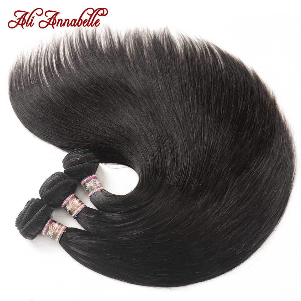 """Şeffaf/orta kahverengi 5x5 dantel kapatma ile saç örgü demetleri perulu düz saç demetleri ile kapatma 10 """"-36"""" inç"""