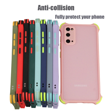 For Samsung galaxy S20 plus S20 Note20 Ultra S20FE Note 8 9 Note10 plus Note10 lite case Anti collision TPU protective case