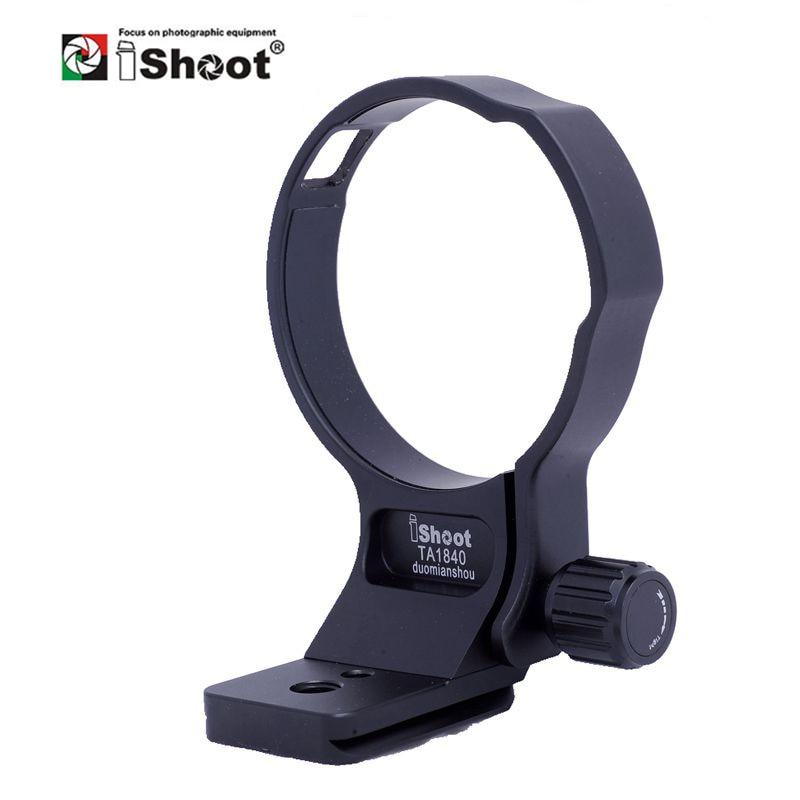 IShoot-Collar de lente para Tamron 18-400mm F3.5-6.3 Di II VC HLD B028, anillo de montaje en trípode con cabezal de bola de cámara, placa de liberación rápida IS-
