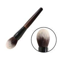 Сандаловая деревянная ручка шерстяные кисти для макияжа румяна