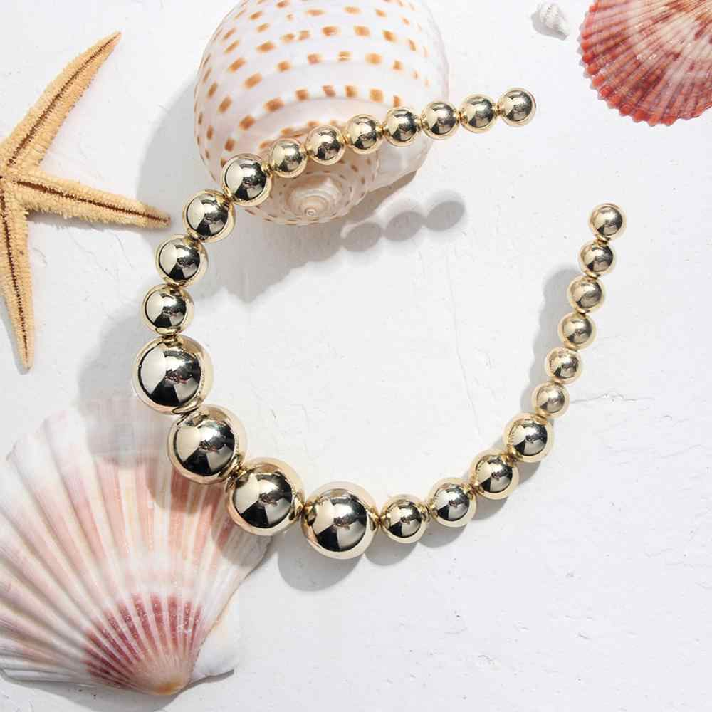 Flatfootsie mode simulé perle bandeau pour les femmes coréen élégant mariée cheveux accessoires à la main chapeaux bandeau bijoux