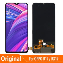 Original AMOLED For OPPO R17 RX17 LCD Display Touch Digitizer Screen Assembly Replacement Parts