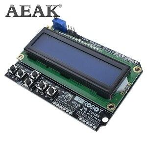 Image 4 - AEAK 1PCS LCD Tastatur Schild LCD1602 LCD 1602 Modul Display Für Arduino ATMEGA328 ATMEGA2560 raspberry pi UNO blauen bildschirm