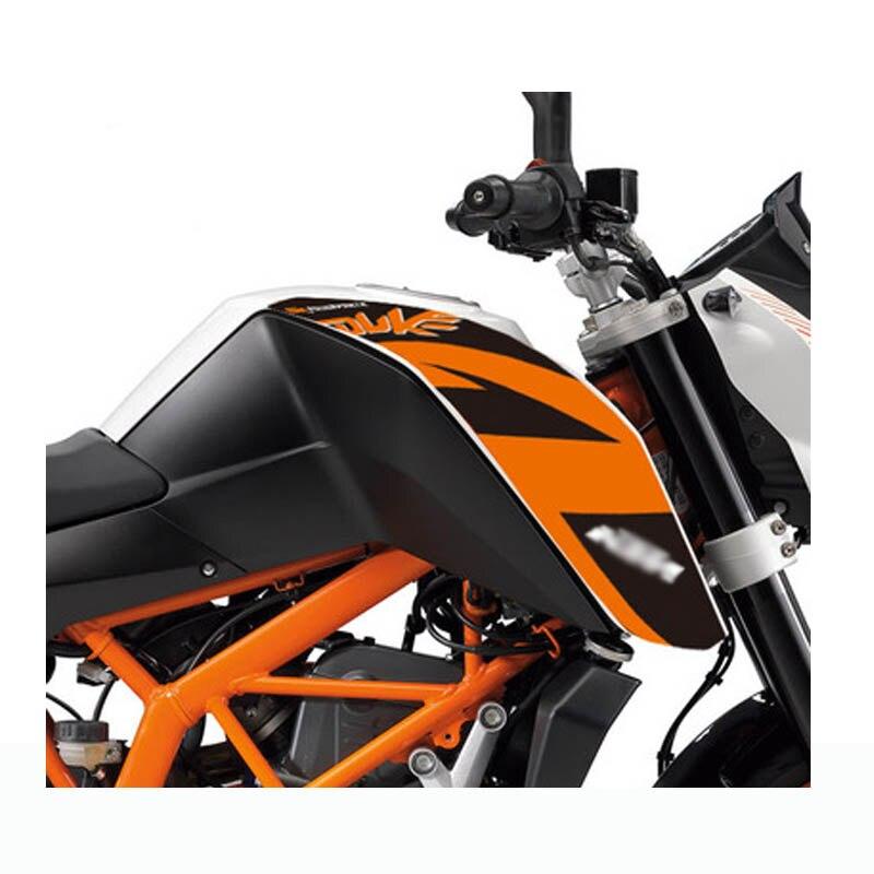 TANK PAD STICKER RESINED BLACK FITS KTM DUKE 790 2018-2019