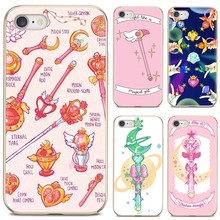 For Samsung Galaxy A10 A40 A50 A70 A3 A5 A7 A9 A8 A6 Plus 2018 2015 2016 2017 Phone Soft Cover Anime Sailor Moon Stick TPU(China)