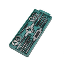 Tap and Die Set Hand With Wire Tap Wrench Hand Metric Tapping 12/20/40PC 1 2 28 unef 5 8 24 unef hand tap round die cut hss right hand tapping tool for hand tap tools tapping set