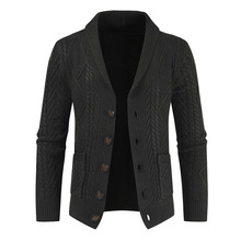 2020 New winter warm Sweater Cardigan Men Brand Casual Slim