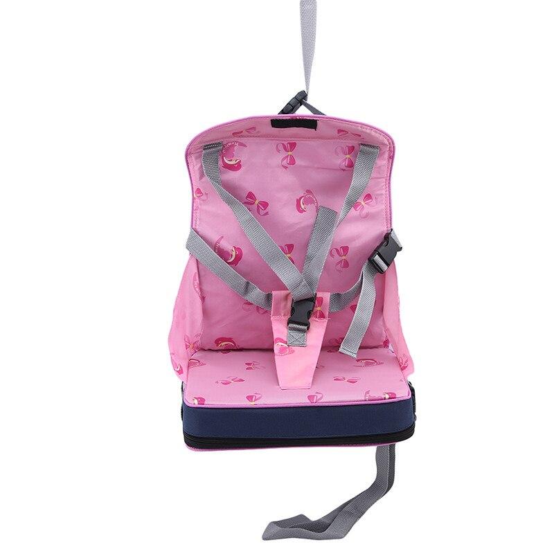 Практичная сумка для детского стула, портативное сиденье для малышей из водонепроницаемой ткани Оксфорд, детский дорожный складной ремень для кормления, высокий стул 5