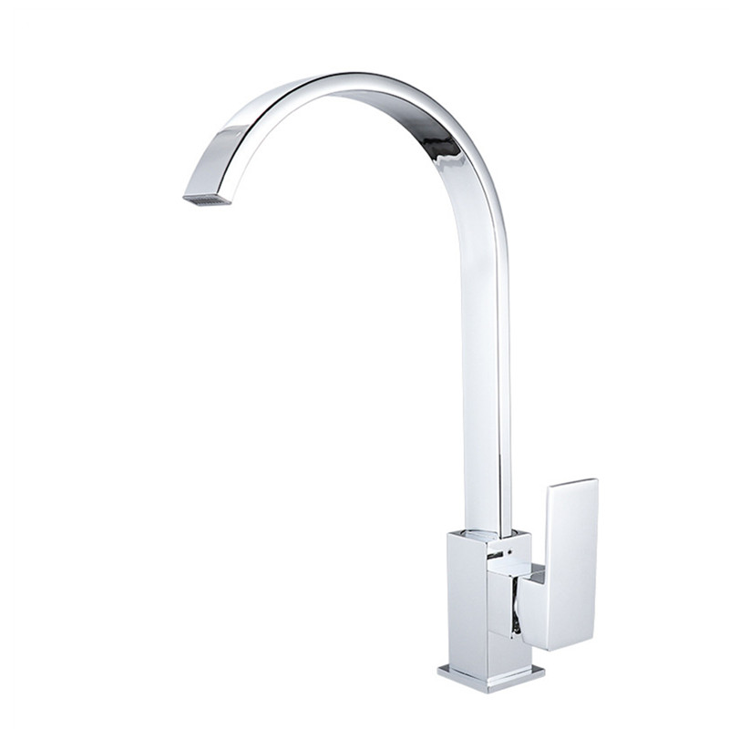 Kitchen Faucets Brass360 Rotate Swivel Faucet Mixer Single Kitchen Sink Water Faucet Holder Single Hole Mixer Tap