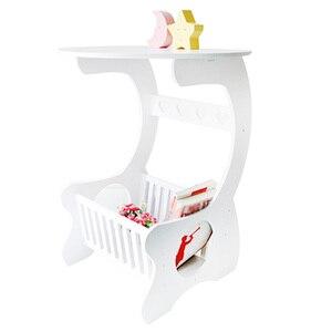 Image 1 - Étagère de rangement en bois sculpté creux pour Table basse, Table basse, Table de thé, bureau pour les loisirs multifonction