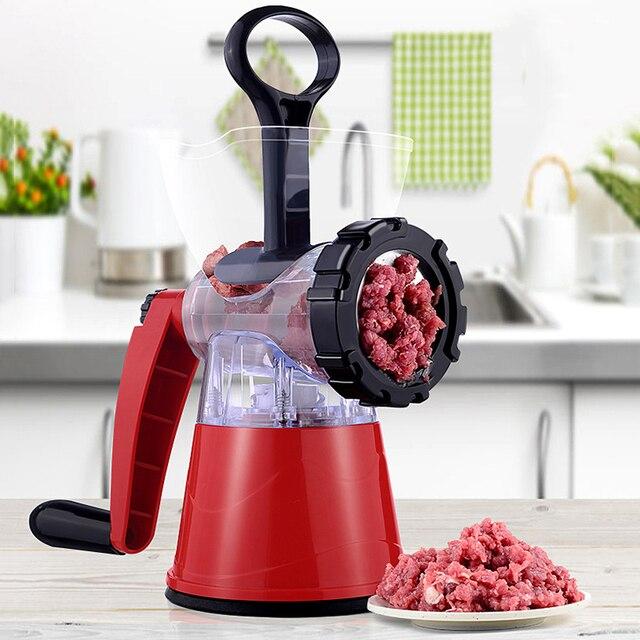 Household Meat Grinder Enema Stuffer Meat Cutter Processor Blender Sausage Shredded Vegetable Paprika Complementary Food Machine 1
