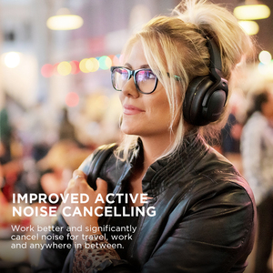 Image 4 - 共同受賞E9 アクティブノイズキャンセリングヘッドホンbluetoothヘッドフォンワイヤレスヘッド耳aptx hdサウンド