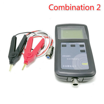 New Original Four-line YR1035 Lithium Battery Internal Resistance Meter Tester YR 1035 Detector 18650 Dry Battery Combination 2