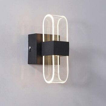 decoracion hogar moderno LED Wall Lamps Indoor Decoration Lighting Bedroom wall Light Arts Modern