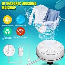 Washing-Machine Ultrasonic Mini Portable Home Business Turbo Travel Usb-Powered Convenient