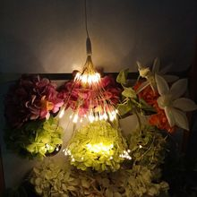 купить Fireworks Copper Fairy Lights Festival Hanging Starburst String Lights Indoor Outdoor Twinkle Light Garland Christmas Lighting по цене 795.9 рублей
