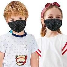 Mascarillas 2 pçs para crianças dos desenhos animados impressão máscaras faciais crianças meninos meninas lavável respirável máscara protetora pm2.5 dustproof # e1