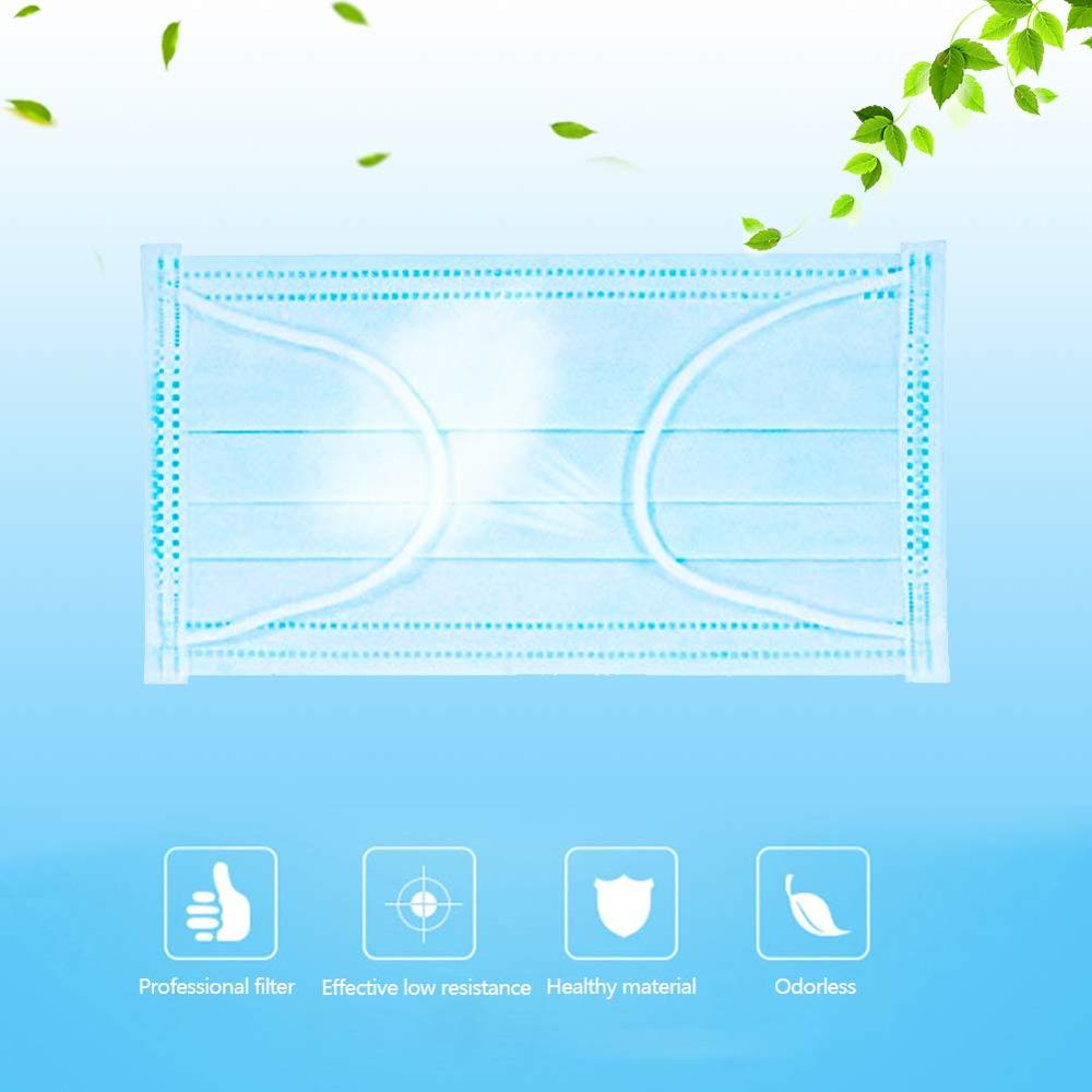 Image 3 - Disposable Daily Protective Mask, Anti Virus, Anti Haze And Dust  proof 3 Layer Mask, Non Woven Melting SprayMasks