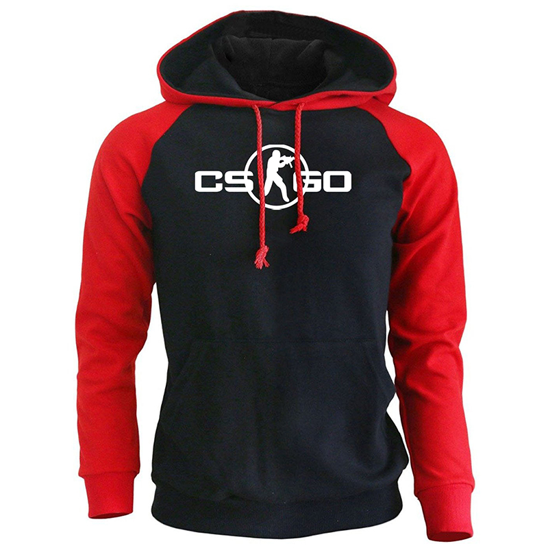 CS GO Game Cosplay Print Hoodies Fashion Streetwear 2019 New Arrival Spring Sweatshirt For Men Harajuku Hip Hop Punk Pullover