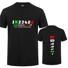 Motorcycle T-Shirt Biker-1n23456 Fashion Double-Side-Tee Men