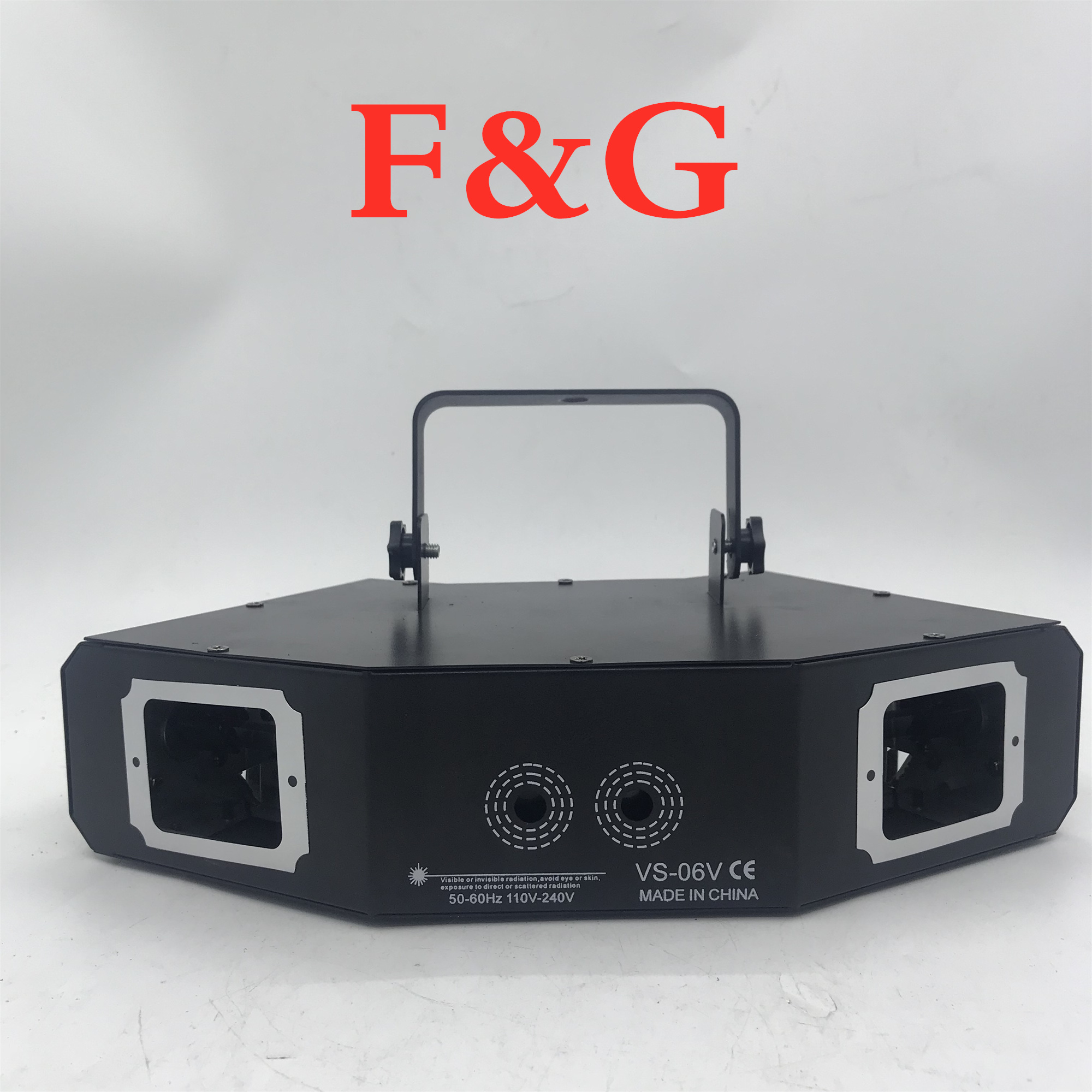 F&Gdisco Laser Light RGB Full Color Beam Light Dj Effect Projector Scanner Laser Stage Lighting