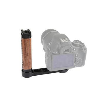 Kayulin Wooden Handle Grip L-shape With Shoe Mount For RoninS / Zhiyun Crane Series Handheld Gimbal