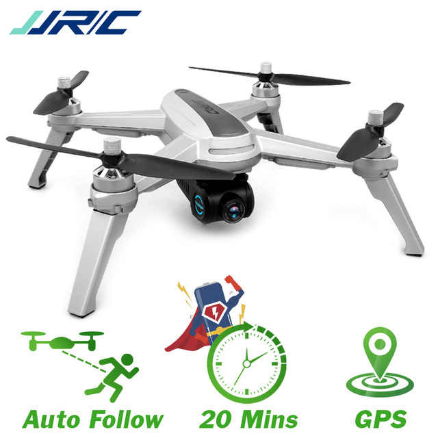 JJRC JJPRO X5 5G GPS WIFI FPV With 1080P HD Camera Max 18 Mins Follow Me Altitude Hold RC Drone Quadcopter RTF