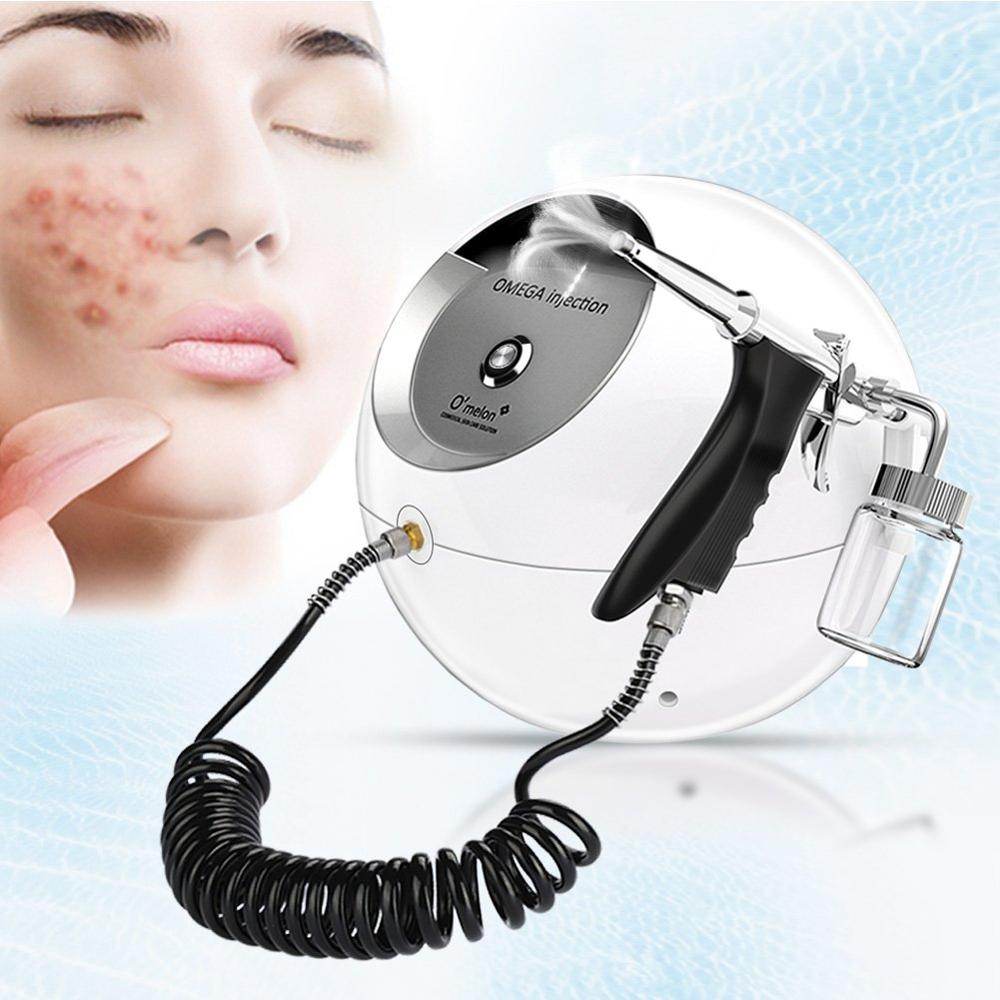 Portable Water Oxygen Facial Sprayer Water Injection Hydrate Moisturizing Skin Revitalizing Oxygen Facial Massager Beauty SPA