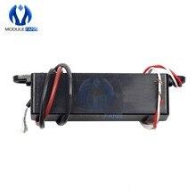Dc 12v 15000v para 20000v 20kv, gerador eletrostático de alta tensão ajustável, módulo de aceleração ignição de íon negativo