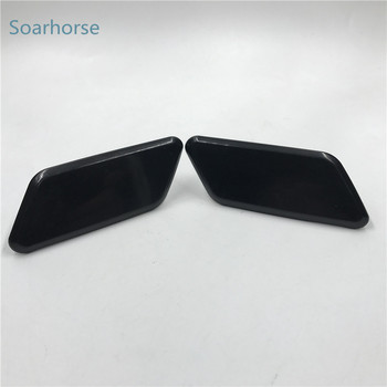 Soarhorse Car Front Bumper headlight water spray nozzle cover headlamp washer nozzle cap for Subaru outback 2010 2011 2012 image