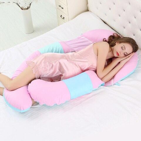 maternidade travesseiro lado dormir cintura apoio almofadas