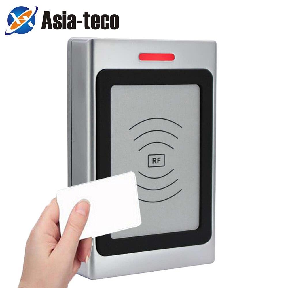 RFID Access Control Card Reader Machine 125Khz RFID Security Proximity Entry Door Opener IP67 Waterproof 10000 User WG 26/34