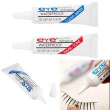 1PC sztuczne rzęsy klej wodoodporne rzęsy przybory kosmetyczne Colle Faux Cil sztuczne rzęsy makijaż rzęs klej jasno-biały ciemno-czarny