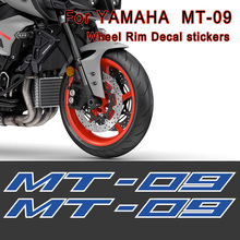 For YAMAHA MT-09 MT09 MT 09 Motorcycle Sticker Decal Wheels Rims Tank Body Shell Helmet Stripes Printing Film 09 2017 2018 2019 black blue stickers decals for motorcycle stripes fits for yamaha mt 09 mt09 mt 09 wheels rims tank body reflective inner