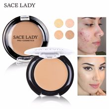 SACE LADY Concealer Full Cover Cream Facial Make Up Waterproof full coverage up Pores Corrector Face Contour Eye Cosmetic
