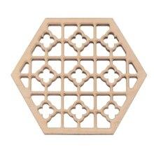 Качественное деревянное шестигранное тиснение Erhu звуковое окно Erhu аксессуар