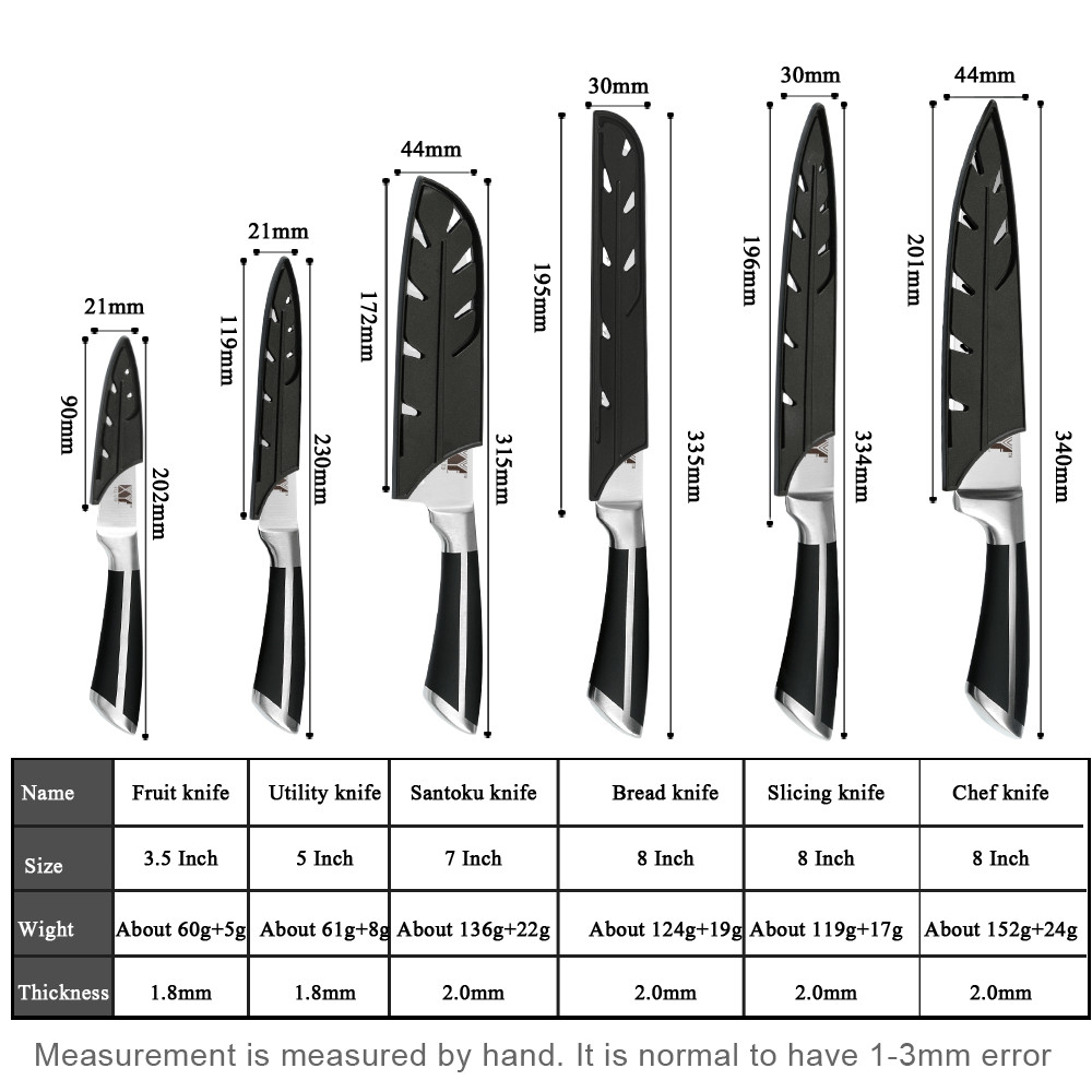 XYj Cutter Knife Tools  Stainless Steel Knives Set Japanese Cooking Knife Chef Cleaver  Santoku Chef Kitchen Knives Supplies