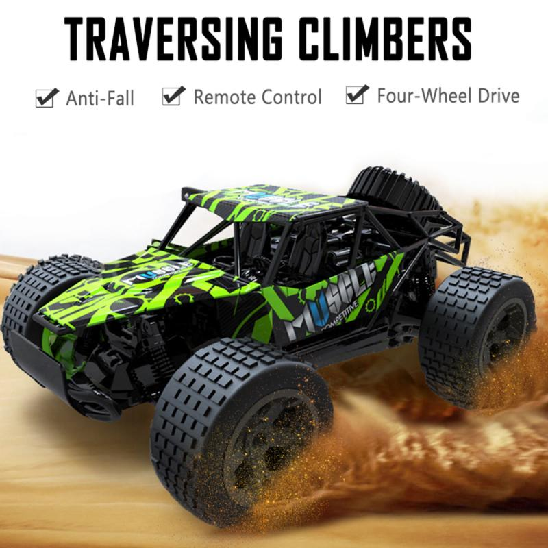 2.4GHz Radio Technology Remote Control Giant Truck Off-road Vehicle High-speed Remote Control Off-road Vehicle Kids Toy Gift