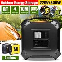 300W 307Wh bluetooth 4.0 Portable Inverter Solar Power Storage Generator UPS AC DC Power Supply Energy Storage System Outdoor