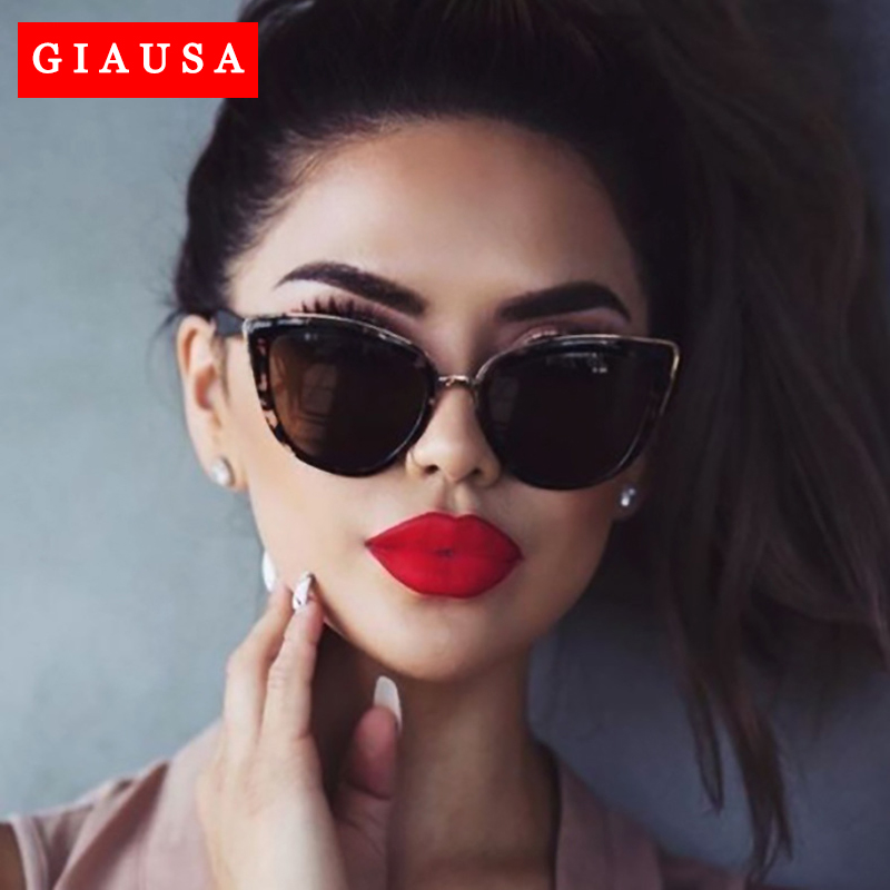 Zonnebril Driver Glasses Women Cat Eye Retro Brand Designer Round Gradient Oversized Sunglasses Metal Frame Sunglasses Goggles