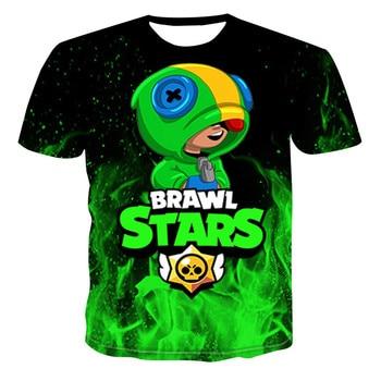 Camiseta Épica de Leon, el Brawler Legendario