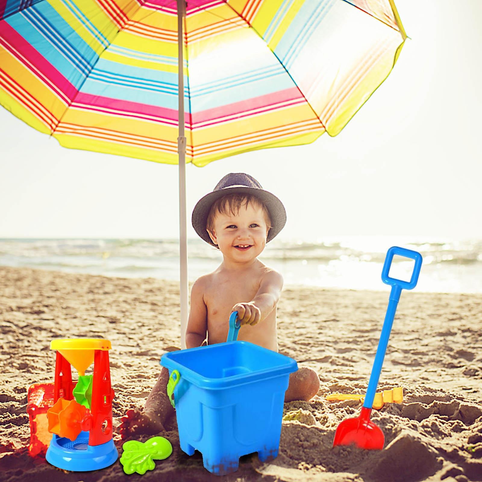 9 Piece Beach Toy Sand Set Sand Play Sandpit Toy Summer Outdoor Toy Kids Sand Kit Juego Arena Playa Reine Des Neige Zabawki