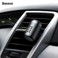 Baseus Mini Aromatherapy Car Air Freshener Fragrance For Car Air Vent Diffuser Air Purifier Solid Smell Parfum Scent Auto Aroma