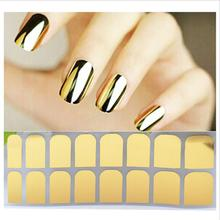 Nail Art Polish Sticker Applique Golden Silver Black Metal Sticker For Nail Ornaments Nail Sticker nail sticker korea 3d nail sticker watermark applique phototherapy nail polish glue flower sticker white big sticker